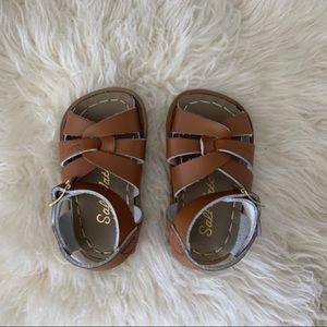Salt-Water Sandals Tan 3